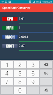 Speed Unit Converter - náhled