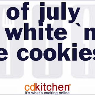 4th of July Red White 'N Blue Cookies Recipe