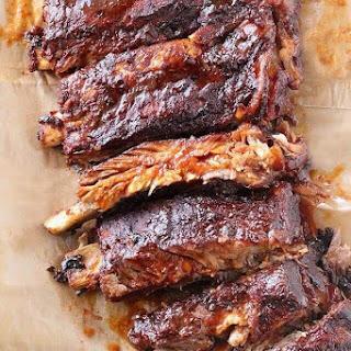 Crock-Pot BBQ Pork Ribs.