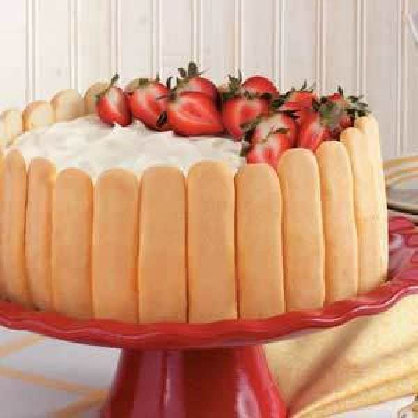 Ladyfinger Cheesecake  By Toh Recipe