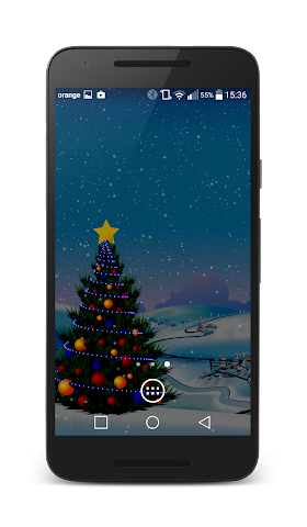 android Winter Live Wallpaper Screenshot 3