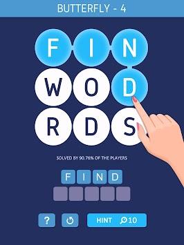Word Space-Search Hidden Words apk screenshot