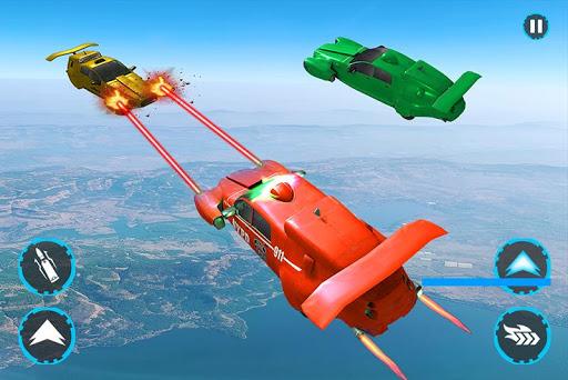 Flying Police Car Robot Transform Games 0.1 screenshots 1