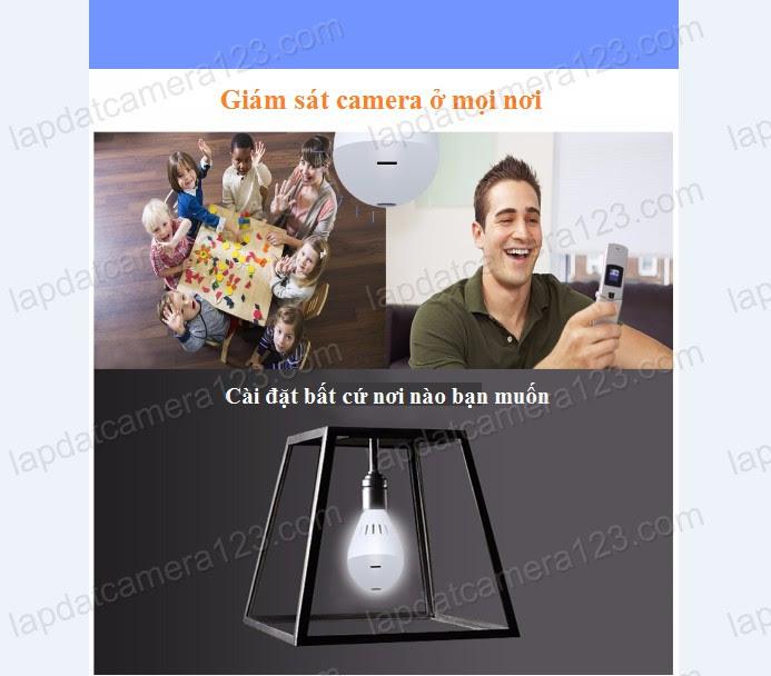 camera bóng đèn