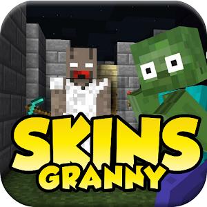 Horror Granny Skins For Minecraft PE Latest Apk Download For - Skins para minecraft pe apk