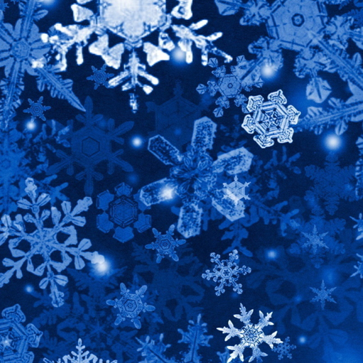 fiocco neve movimento screensaver