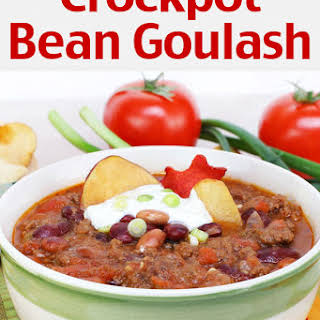 Crockpot Bean Goulash.