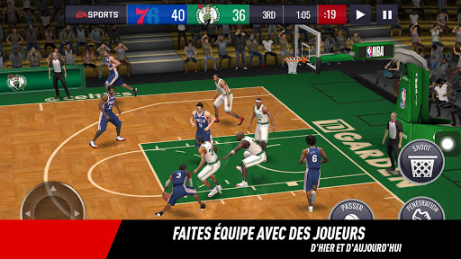 NBA LIVE Mobile Basket-ball  captures d'écran 2