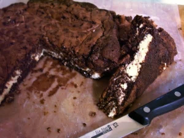 German Cream Cheese Brownies Recipe