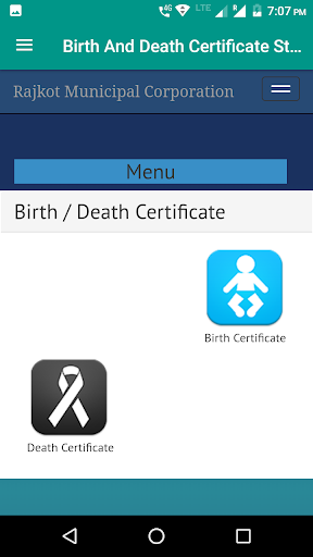 Birth And Death Certificate State Wise screenshot 3