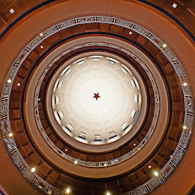 Rockwall Courthouse by Jen Hamrick - Buildings & Architecture Public & Historical ( circle, pwc79 )