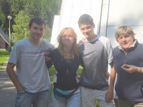 Photo: Dominik, Zuzka, Lukáš a Majka