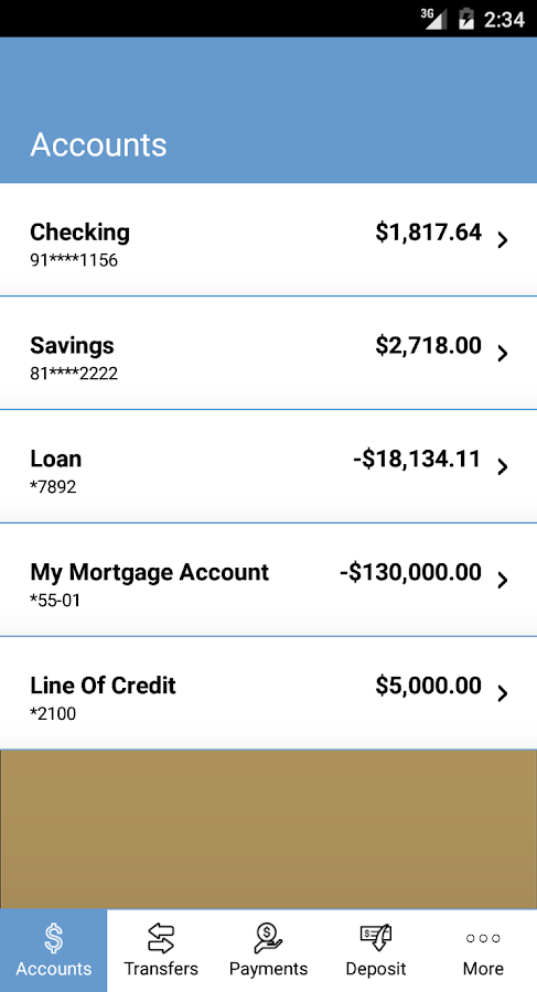 FNBT Mobile Banking- screenshot