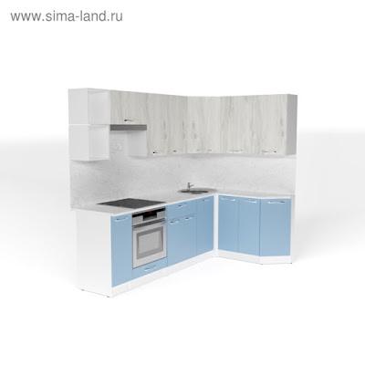 Кухонный гарнитур Мария прайм 5 2300*1500 мм