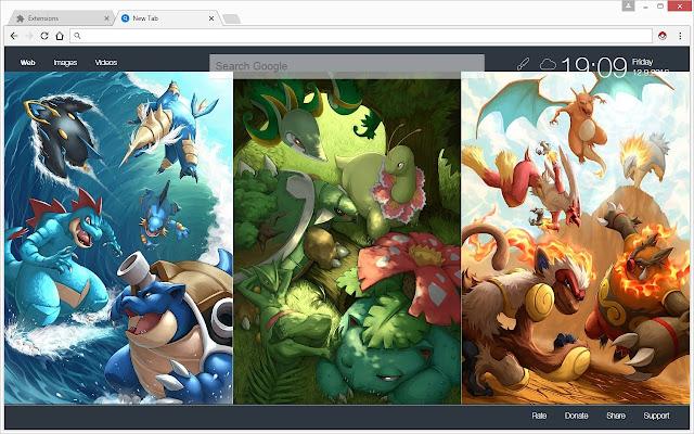 Pokemon hd wallpapers new tab theme chrome web store - Chrome web store wallpaper ...