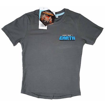 Minecraft T-Shirt Earth