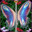 Papillon Zipper verrouillage icon