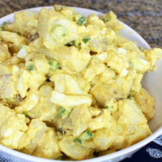 Picnic Potato Salad with Eggs Recipe