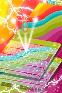 Multicolor Theme for Keyboard - náhled