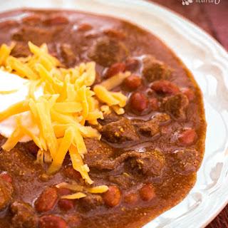 Texas Chili.