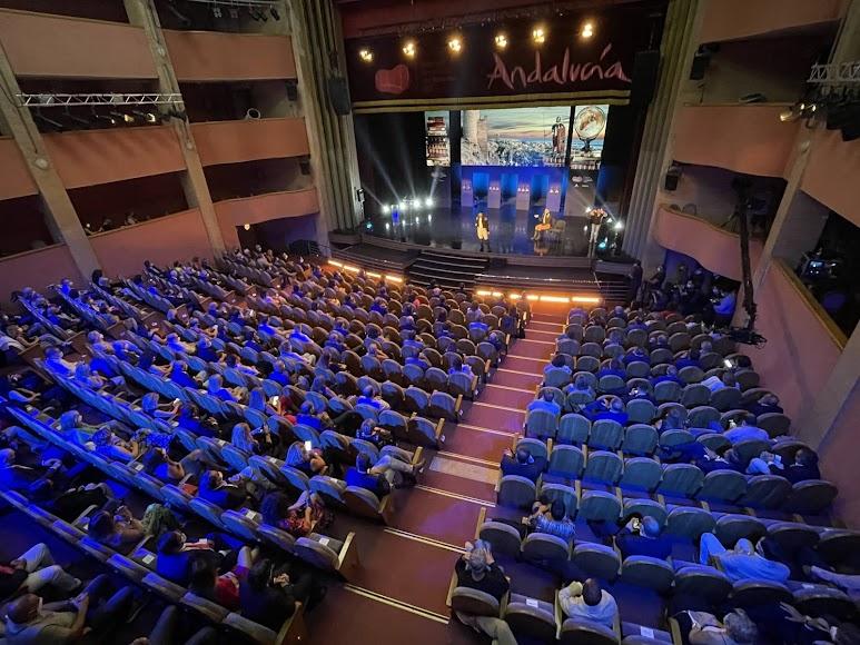 Vista general del Auditorio Maestro Padilla.