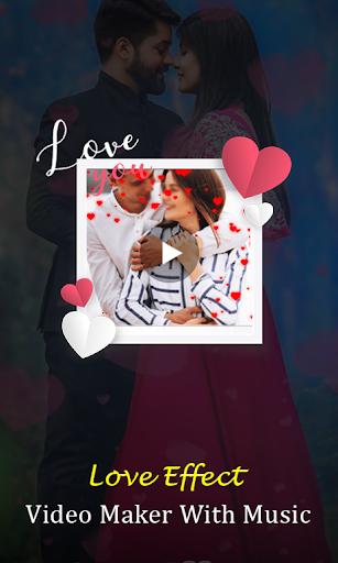 Love Effect Video Maker - with Music screenshot 1