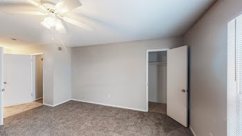 Go to One Bed, One Bath Townhome B Floorplan page.