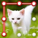 Kitty Cat Pattern Screen Lock icon