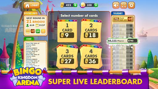 Bingo Kingdom Arena: Free Bingo Game u2013 Live Bingo 0.003.206 screenshots 2