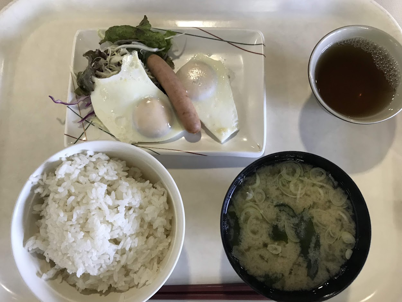 マツダ第2小磯寮 食堂・朝定食