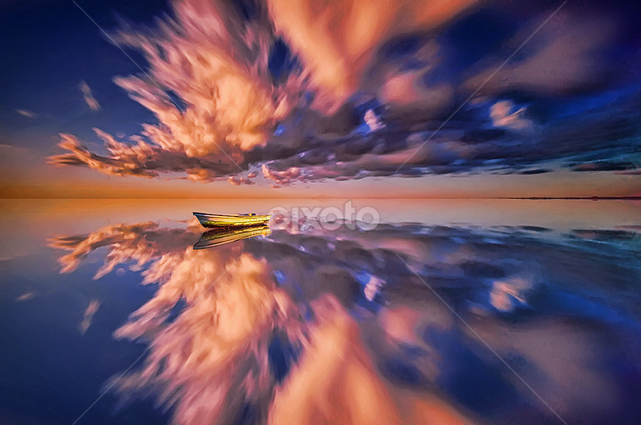 Silent Morning by Hendri Suhandi - Landscapes Cloud Formations ( bali, tuban, indonesia, cloud, sunrise, travel, beach )