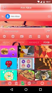 7 years Emoji Keyboard Theme - náhled