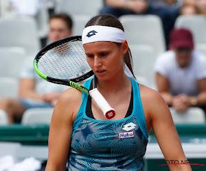Greet Minnen krijgt tennisles van 'de nieuwe Serena' en sneuvelt in derde kwalificatieronde
