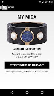 MICA Connect screenshot