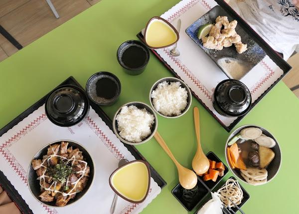 白飯飲料小菜吃免驚 大胃王好去處 家庭客不打擾好地方|台南 東區 一嵐食堂 平價日式定食