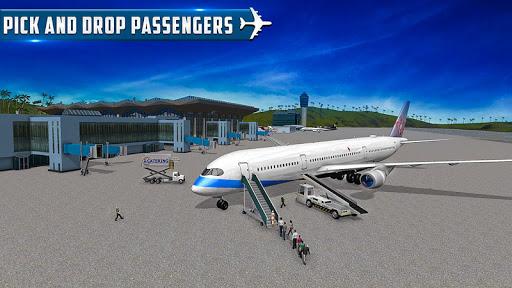 Airplane Flights Driver Flying Plane Simulator  captures d'u00e9cran 1