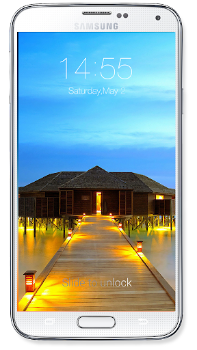 OS8 Lock Screen 4.7 screenshots 3