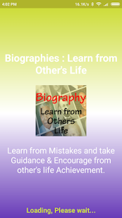 Biography : Learn from Other's Life - náhled
