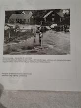 Photo: Översvämmning i Arkelstorp 31 juli 1959