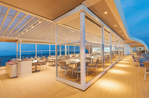 Head to the upper deck of Silver Origin for a great vantage point to take in the Galapagos.