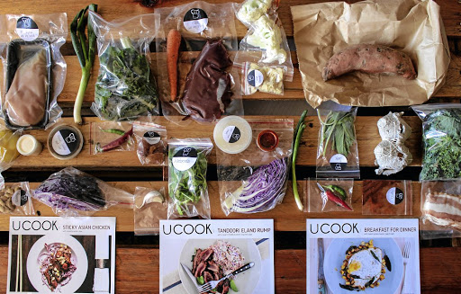 The neatly-packed dinner kits contain only what you need so that you don't have to waste a thing or buy packets of produce to use only a leaf or two.