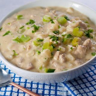 Creamy Turkey Chowder