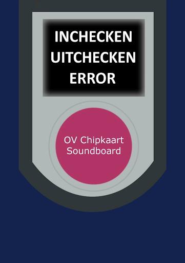 OV Chipkaart Soundboard