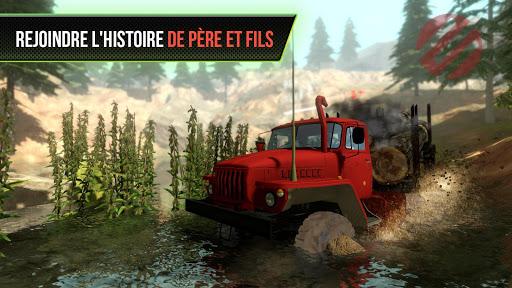 Truck Simulator OffRoad 4  captures d'u00e9cran 1