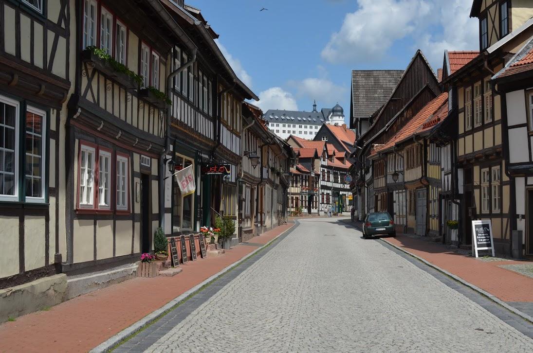 Stolberg (Harz) mit Blick zum Schloss
