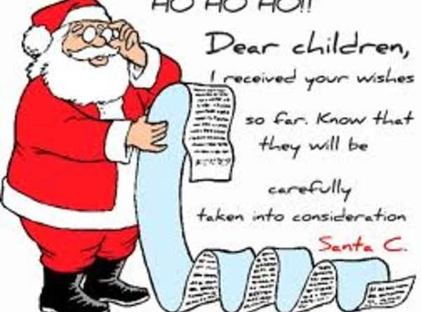 Santa's Nightcap Recipe