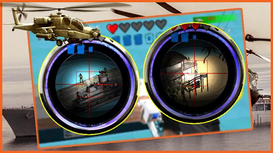 Navy Gunship Air Combat - Sea screenshot