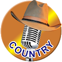 Absolutely Country Hits Radio 1FM Live Player App icon