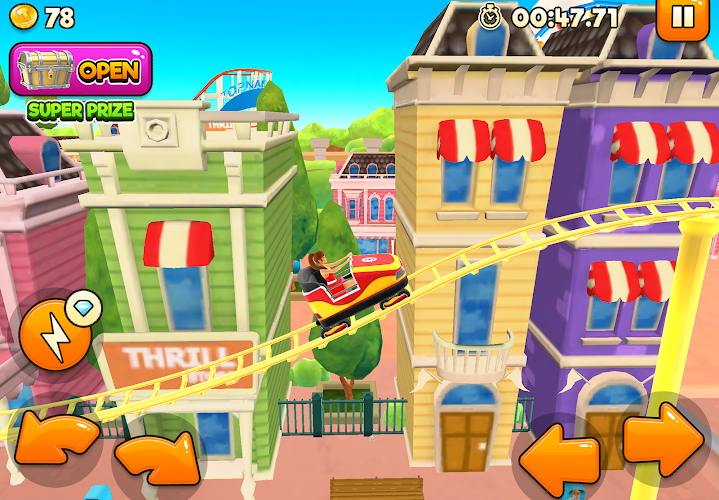 Thrill Rush Theme Park Android App Screenshot
