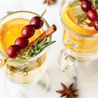 White Cranberry Mulled Wine.